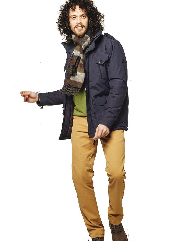VEDONEIRE Herren Baumwolle Wattierte Jacke (3048 NAVY) BLAU Wintermantel günstig kaufen