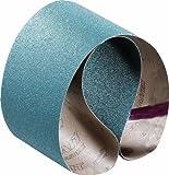 SAIT 64062 Closed Coat Zirconium 1/2-Inch x 18-Inch ZH 80 Grit Sanding Belt, 10-Pack