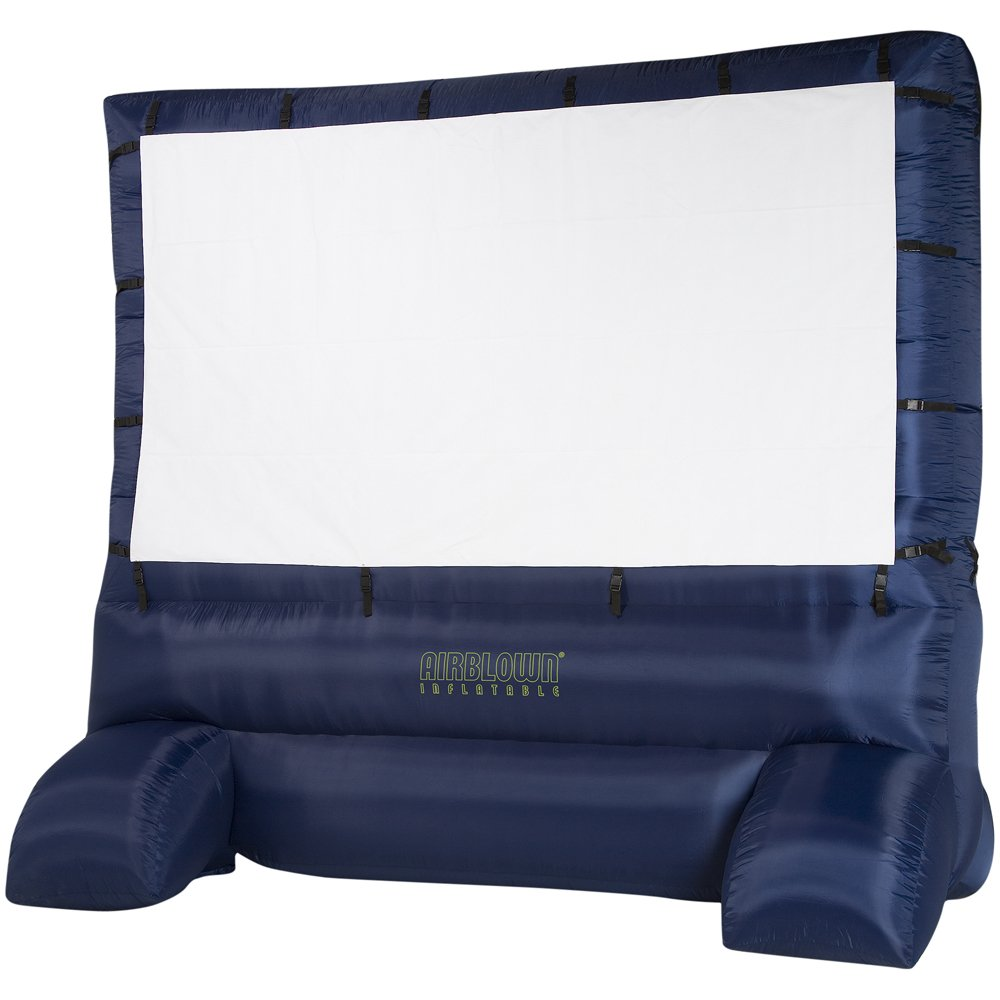 details about airblown inflatable outdoor 12 39 movie screen w projector