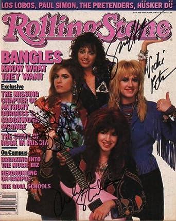 Bangles (Susanna Hoffs, Debbie Peterson, Michael Steele & Vicki