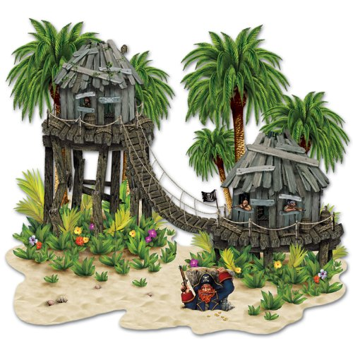 Jungle Trees Prop Party Accessory (1 count) (1/Pkg)
