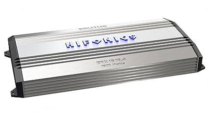 Hifonics BRX6164 HIFONICS BRUTUS 4 x 80 @ 4 Ohm 4 x 160 @ 2 Ohm 2 x 320 WATTS @ 4 Ohms Bridged