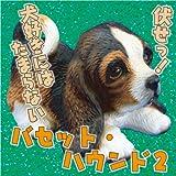瀬戸焼・犬の置物 バセット・ハウンド2 / ネキア
