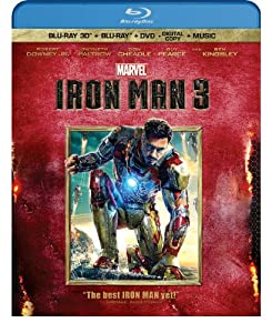 Iron Man 3 (Three-Disc Blu-ray 3D / Blu-ray / DVD + Digital Copy) by Walt Disney Studios Home Entertainment
