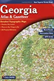 Georgia Atlas & Gazetteer (0899332536) by DeLorme
