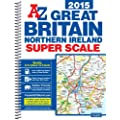 Great Britain Super Scale Road Atlas 2015