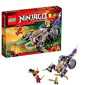 Lego Ninjago - Playthèmes - 70745 - Jeu De Construction - Le Broyeur Anacondra