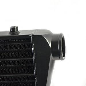 12pcs Piping 24pcs T-Bolt Clamps Black 12pcs 2.5 Blue Coupler Hoses KABOCHO 28 x 7 x 2.5 Universal Turbo Intercooler Kit With Intercooler