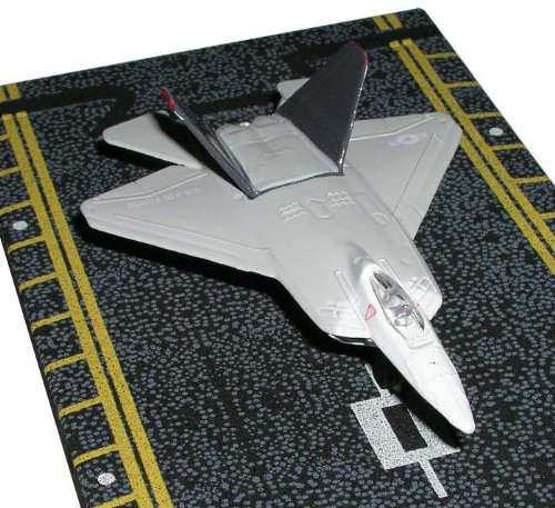 Hot Wings F-22 Raptor (WHITE & GREY)