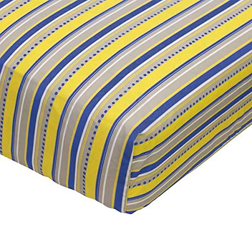Linden Stripe Fitted Sheet - different from sheet in set