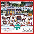 Buffalo Games Churchyard Christmas by Charles Wysocki Jigsaw Puzzle (1000 Piece) from Buffalo Games, LLC
