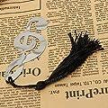ADAALEN Music Note Alloy Lesezeichen Document Buch Markierung Etikettenpapierwaren von ADAALEN bei Gartenmöbel von Du und Dein Garten