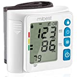 MIBEST Wrist Blood Pressure Monitor - BP Cuff Meter with Display - Blood Pressure Machine up 5.3