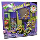 Teenage Mutant Ninja Turtles Tmnt Boys 5pc Bath Groom & Go Gift Tub Set - Includes Mirror, Play Razor, Bath Foam, Shampoo, Hair Gel