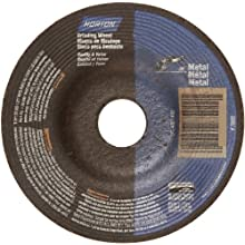 Norton Metal Depressed Center Abrasive Wheel, Type 27, Aluminum Oxide
