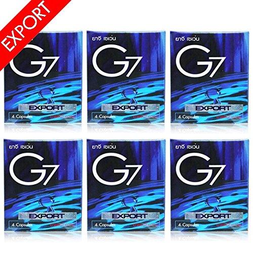 6箱 G7 EX 日本限定モデル ジーセブン EXPORT