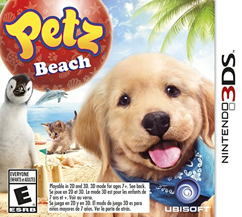 Petz Beach - Nintendo 3DS - 1