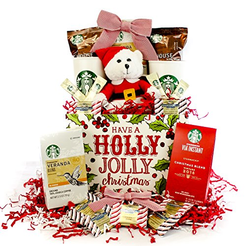 starbucks-holiday-have-a-holly-jolly-christmas-gourmet-coffee-gift-basket