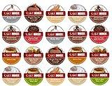 20 Cup Cake Boss® Coffee Sampler! New Flavors! Chocolate Cannoli, Italian Rum Cake, Raspberry Truffle, Vanilla Buttercake++