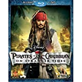 Pirates of the Caribbean: On Stranger Tides (Two-Disc Blu-ray / DVD Combo in Blu-ray Packaging) ~ Johnny Depp