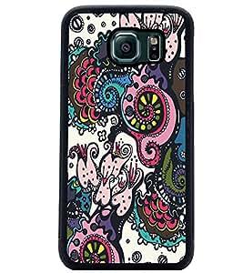 PrintDhaba Graffiti D-5319 Back Case Cover for SAMSUNG GALAXY S6 (Multi-Coloured)