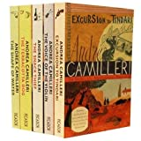 Andrea Camilleri Inspector Montalbano Mysteries Collection 5 Books Set Pack (The Voice of the Violin, Excursion to Tindari, The Shape of Water, The Terracotta Dog, The Snack Thief) Andrea Camilleri