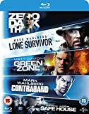 Image de 5 Movie Blu-ray Set Lone Survivor / Zero Dark Thirty / Safe House / Green Zone / Contraband