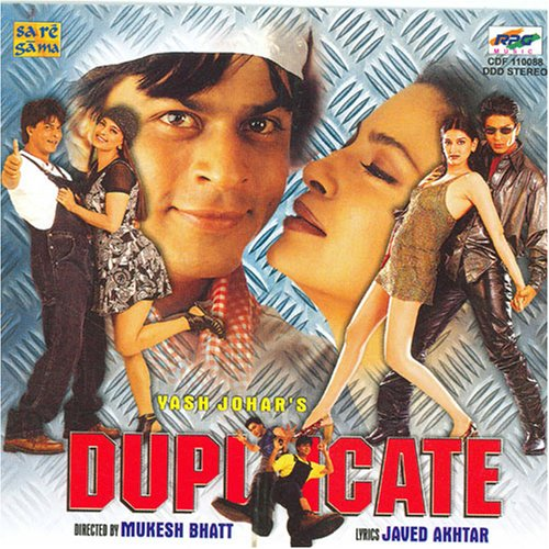 Duplicate (Audio Cd/Bollywood Film Soundtrack/Hindi Songs/Indian Music