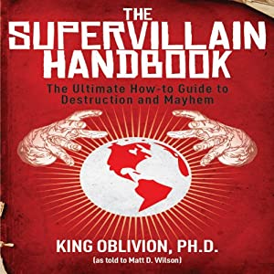The Supervillain Handbook Audiobook