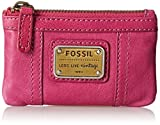 Fossil Emory Zip Coin Wallet, Bright Purple, One Size