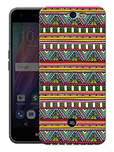 "Aztec Tribal Pattern Printed Designer Mobile Back Cover For ""Google Infocus M812"" By Humor Gang (3D, Matte Finish, Premium Quality, Protective Snap On Slim Hard Phone Case, Multi Color)"