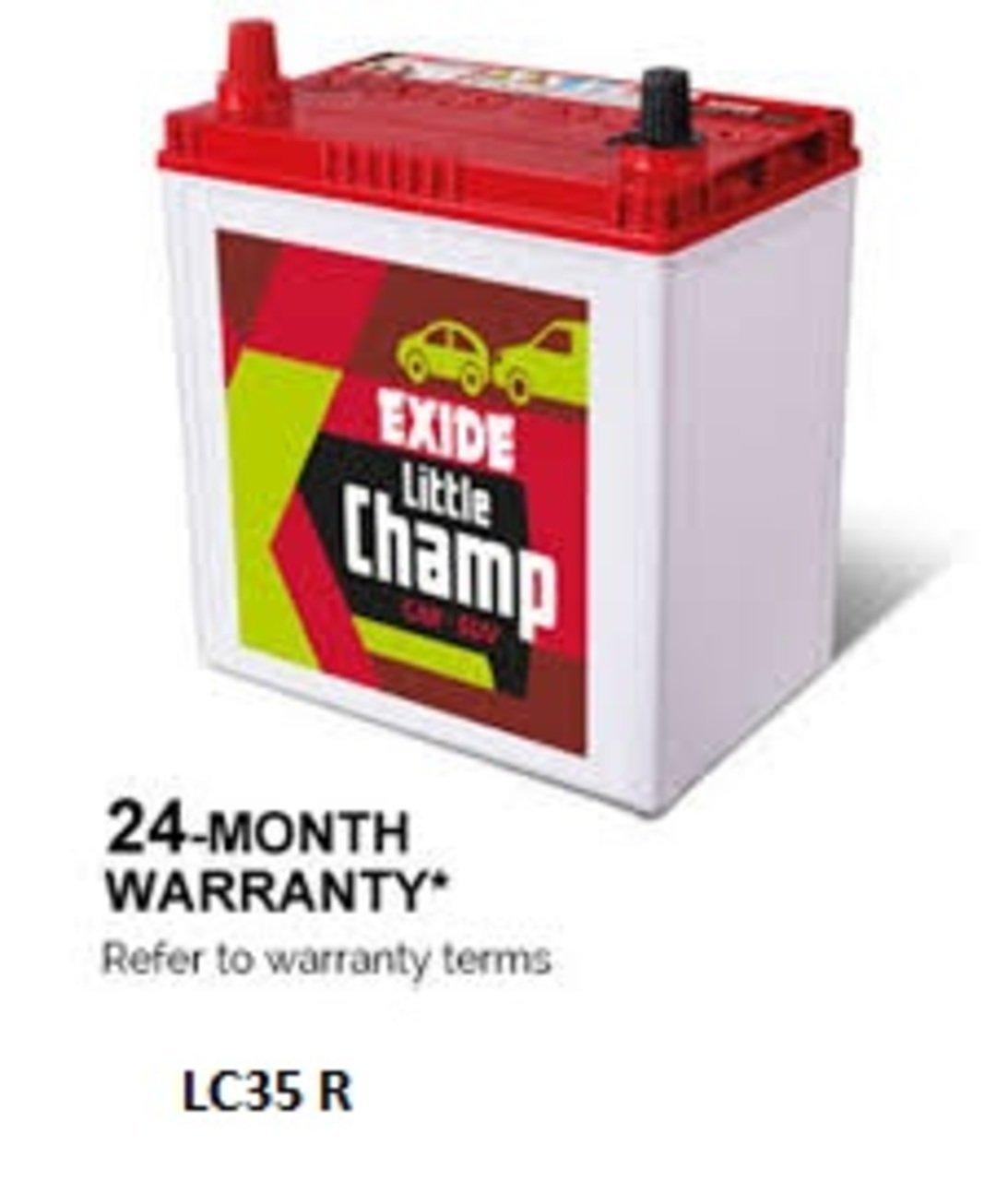 Exide little champ 35 ah battery