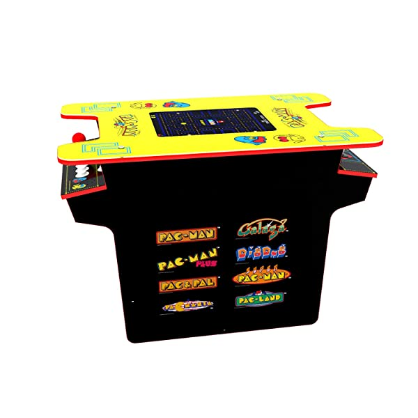 Arcade 1Up - Deluxe 8-in-1 Head to Head Cocktail Table with Pac-Man, Galaga & More