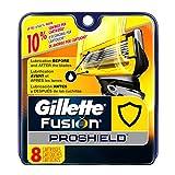 Gillette Fusion Proshield Men's Razor Blade Refills, 8 Count