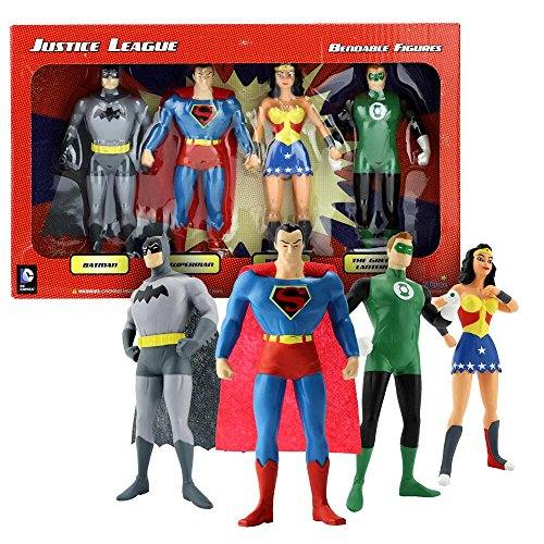 Justice League Bendable Boxed Set - NJ Croce