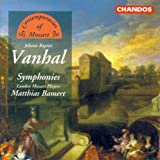 Vanhal: Symphonies in G Minor / D Major / C Minor