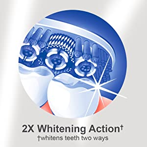 Colgate 360 Optic White Sonic Powered Vibrating Toothbrush, Soft (Color: White)