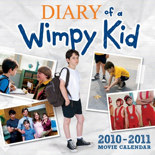 Diary of a Wimpy Kid Movie Calendar 2010-2011 (Wall Calendar)