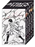 Attack on Titan, B�nde 1-5 im Sammels...