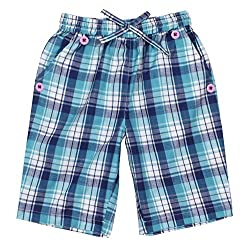 ShopperTree Boys' Regular Fit Shorts (ST-1645_4-5Y, Blue, 4 to 5 years)