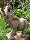 Elefant Jumbo Afrika Figur Skulptur Tierfigur