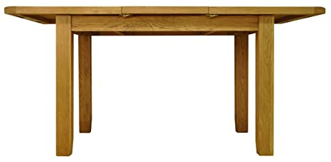 Staffordshire Rustic Oak 1.2M Butterfly Extending Table