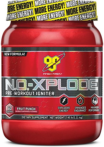 BSN N.O.-XPLODE - Fruit Punch, 2.45 lb