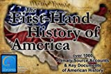 img - for First-hand History of America book / textbook / text book