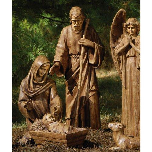 Nativity Set Joseph Mary Jesus Artificial Christmas