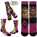 Five Nights at Freddy's Socks Premium Crew - 2 Pack