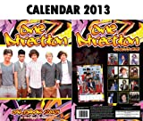 ONE DIRECTION 2013 CALENDAR BY DREAM + FREE ONE DIRECTION FRIDGE MAGNET