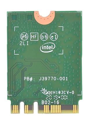 9260NGW WiFi Card for Intel,Dual Band Wireless- 9260AC AC 9260 NGFF WiFi Card M.2 NGFF 2.4/5GHz(160Mhz) Bluetooth 5.0 Wireless WiFi Card 1.73Gbps