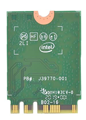 9260NGW WiFi Card for Intel,Dual Band Wireless- 9260AC AC 9260 NGFF WiFi Card M.2 NGFF 2.4/5GHz(160Mhz) Bluetooth 5.0 Wireless WiFi Card 1.73Gbps