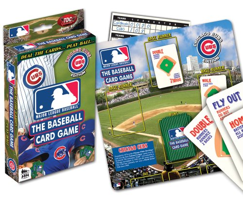 Chicago Cubs Card Game - 1